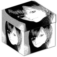 Boy Storage Stool 12