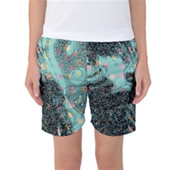 Grainy Angelica Women s Basketball Shorts