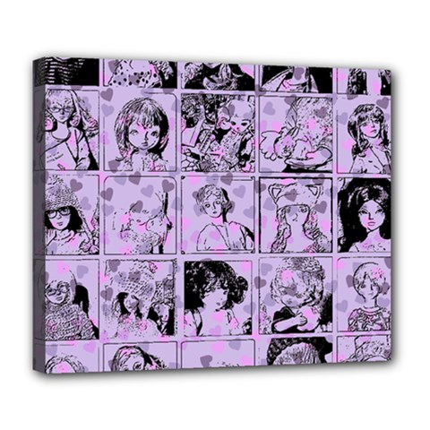 Lilac Yearbook 1 Deluxe Canvas 24  X 20