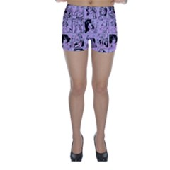Lilac Yearbook 1 Skinny Shorts