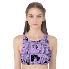 Lilac Yearbook 1 Tank Bikini Top