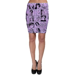 Lilac Yearbook 2 Bodycon Skirt