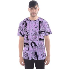 Lilac Yearbook 2 Men s Sports Mesh Tee
