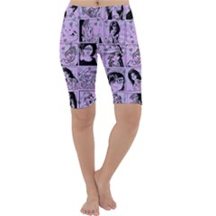 Lilac Yearbook 2 Cropped Leggings