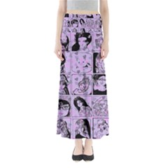 Lilac Yearbook 2 Full Length Maxi Skirt