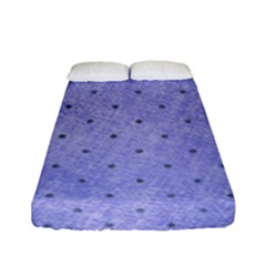 Dot Blue Fitted Sheet (full/ Double Size)