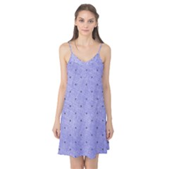 Dot Blue Camis Nightgown