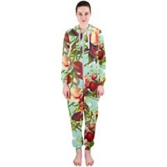 Fruit Blossom Hooded Jumpsuit (ladies)