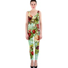 Fruit Blossom One Piece Catsuit