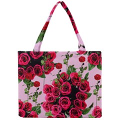 Roses Pink Mini Tote Bag
