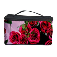 Roses Pink Cosmetic Storage Case