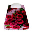 Roses Pink Fitted Sheet (Single Size) View1