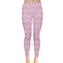 Damask Pink Leggings