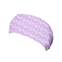 Damask Lilac Yoga Headband