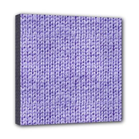 Knitted Wool Lilac Multi Function Bag