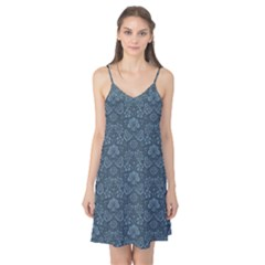 Damask Blue Camis Nightgown