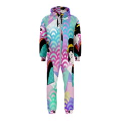 Japanese Abstract Hooded Jumpsuit (kids)