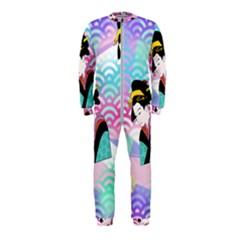 Japanese Abstract Onepiece Jumpsuit (kids)