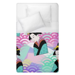 Japanese Abstract Duvet Cover (single Size)