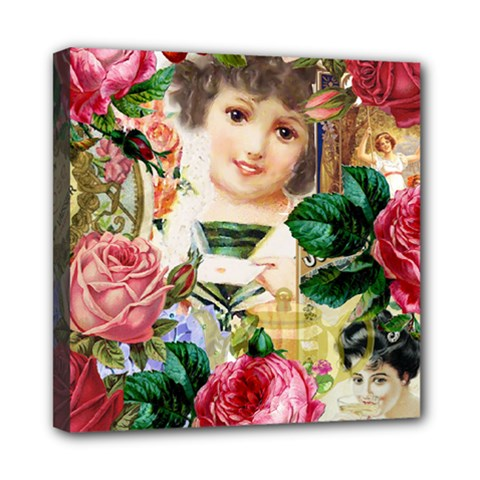 Little Girl Victorian Collage Multi Function Bag