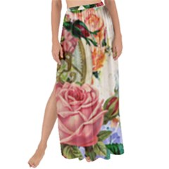 Little Girl Victorian Collage Maxi Chiffon Tie Up Sarong
