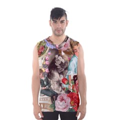Victorian Collage Men s Basketball Tank Top