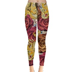 Octopus Floral Leggings