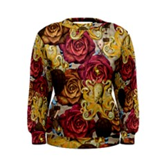 Octopus Floral Women s Sweatshirt