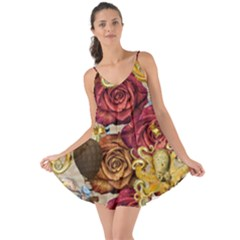 Octopus Floral Love The Sun Cover Up
