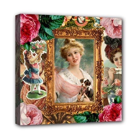 Victorian Collage Of Woman Multi Function Bag