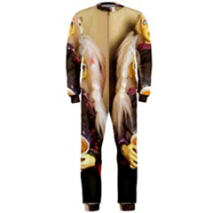 Eating Lunch Onepiece Jumpsuit (men)