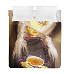 Eating Lunch Duvet Cover Double Side (full/ Double Size)