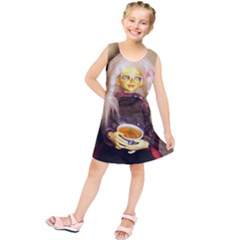 Eating Lunch Kids  Tunic Dress