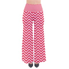 Red Chevron Pants