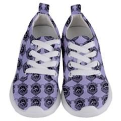 Three Women Blue Kids  Lightweight Sports Shoes