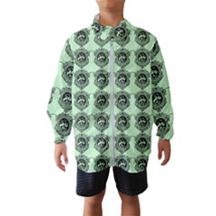 Three Women Green Wind Breaker (kids)