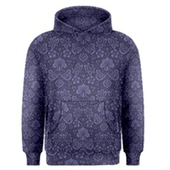 Damask Purple Men s Pullover Hoodie