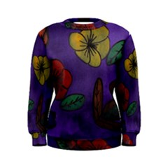Flowers Women s Sweatshirt