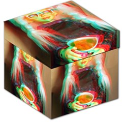 Eating Lunch 3d Storage Stool 12