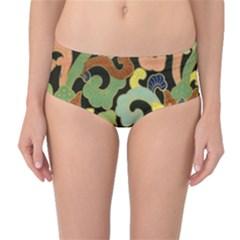 Abstract 2920824 960 720 Mid Waist Bikini Bottoms
