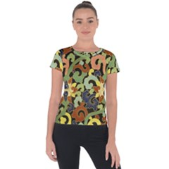 Abstract 2920824 960 720 Short Sleeve Sports Top