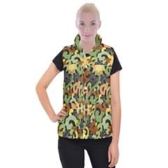 Abstract 2920824 960 720 Women s Button Up Puffer Vest