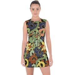 Abstract 2920824 960 720 Lace Up Front Bodycon Dress