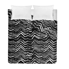 Dark Abstract Pattern Duvet Cover Double Side (full/ Double Size)