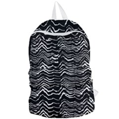 Dark Abstract Pattern Foldable Lightweight Backpack