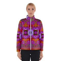 Shimmering Pond With Lotus Bloom Winterwear