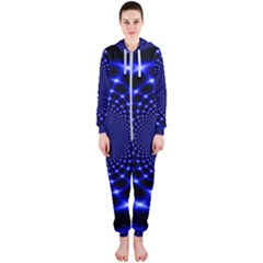 Indigo Lotus 2 Hooded Jumpsuit (ladies)