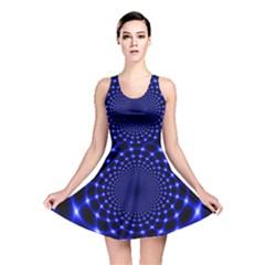 Indigo Lotus 2 Reversible Skater Dress