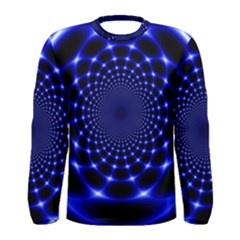 Indigo Lotus  Men s Long Sleeve Tee