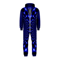 Indigo Lotus  Hooded Jumpsuit (kids)